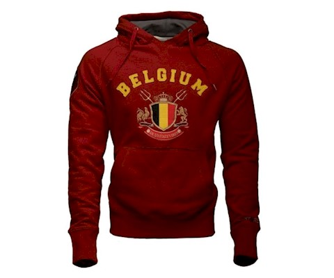 Équipe de football belge - Pull rouge Diables Rouges