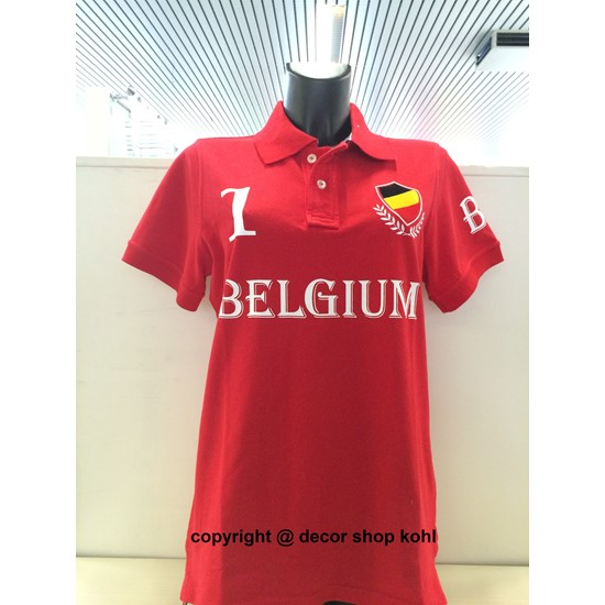Kohl Fashion Polo frauen rot